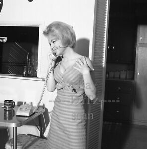 1960s Negative-sexy blonde pinup girl Candy Elkins
