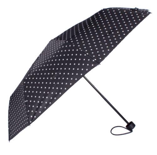 Regenschirm Taschenschirm mini mit Punkten -verschiedene Farben