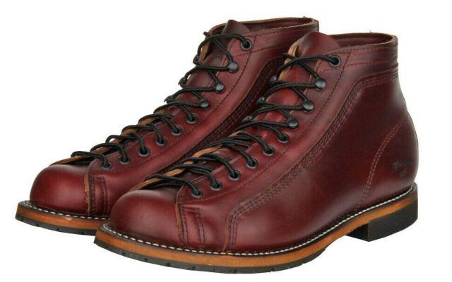 acb226b9154 Thorogood 1892 Portage Burgundy Horween Chromexcel Leather Boot USA 814-5014