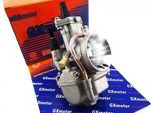Details about YAMAHA YZ85 GXMOTOR PWK 28 FLAT SLIDE CARBURETOR ASSEMBLY  POWER JET CARB
