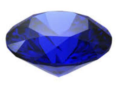 Acabado De Oro Blanco Azul Zafiro Corazón y creado Diamante Aretes Regalo Caja