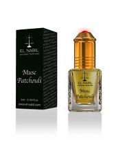 EL NABIL 5ml Musc Patchouli 100% huile