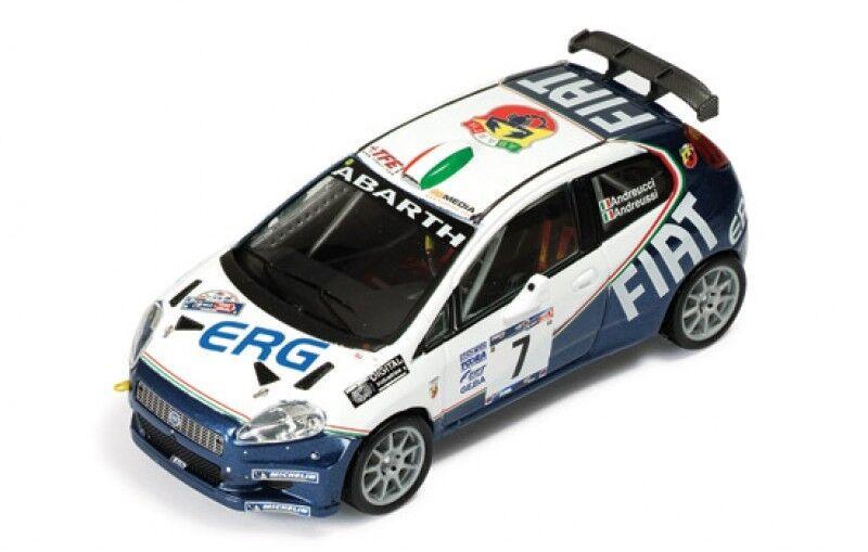 1 43 FIAT GRANDE PUNTO ABARTH S2000 Rallye Mille Miglia 2006 P. Andreucci