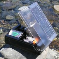 Solar Battery Charger W/meter Aa Aaa C & D Usb Free 2 Aa Rechargeable Batteries