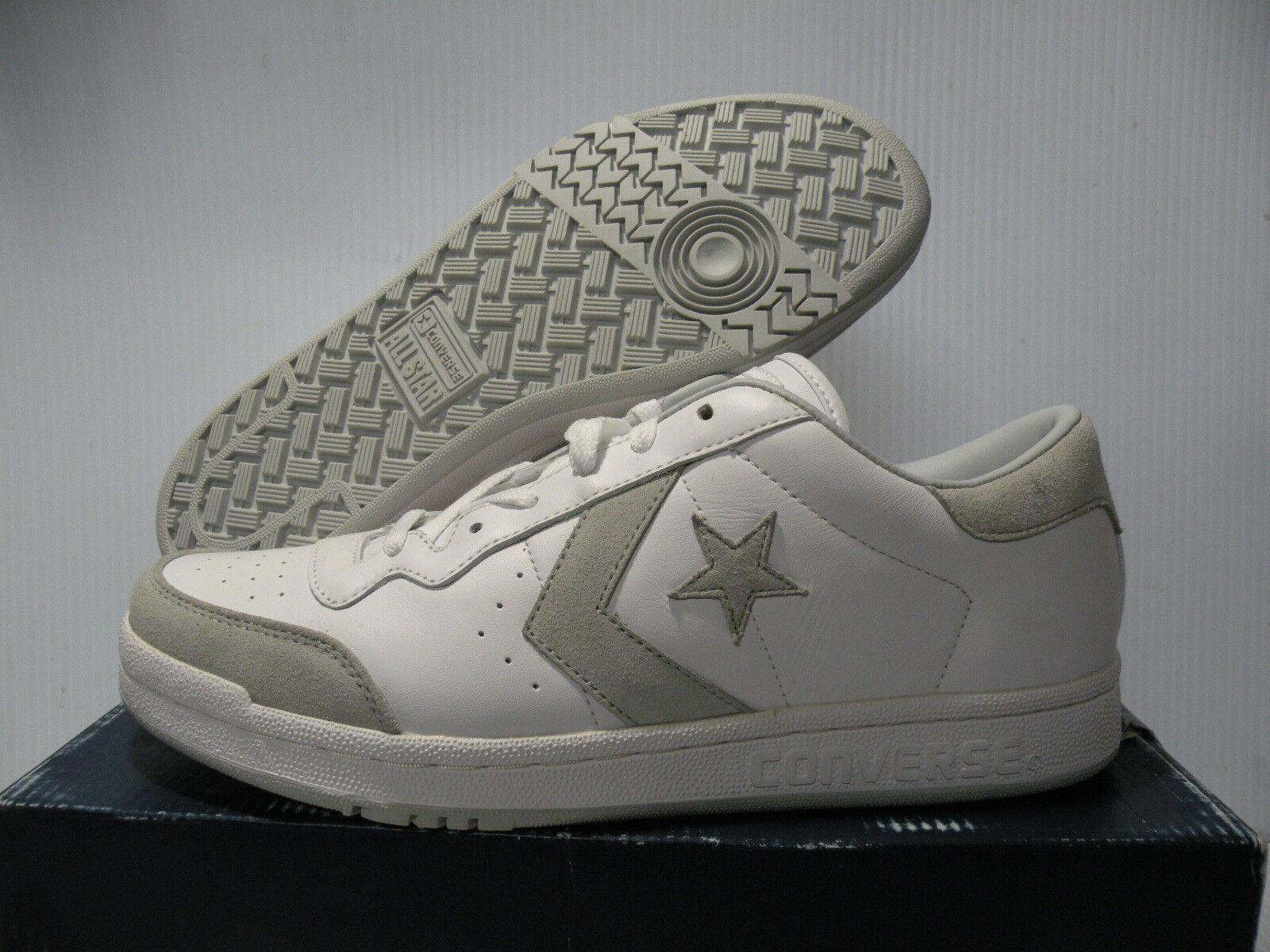 CONVERSE PRO STAR OX WHITE/GRAY SNEAKERS SNEAKERS WHITE/GRAY Uomo Scarpe 1J546 SIZE 7 NEW cc3fe2