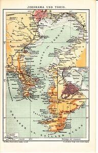 Details about 1899 YOKOHAMA & TOKYO Antique Map on hilla map, asahikawa map, suginami map, taiohae map, nakameguro map, pusan map, nagasaki map, gotemba map, hokkaido map, honshu map, osaka map, kyoto map, japan map, kobe map, kanagawa map, shonan map, nagoya map, manila map, kawasaki map, taipei map,