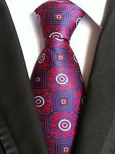 Konstruktiv nt121 Formal Man Tie Red Blue Floral Business Wedding Office Party Men Necktie