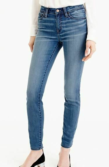 J. Crew Lookout High rise skinny jeans in Chandler wash W 27 8 10 VGC