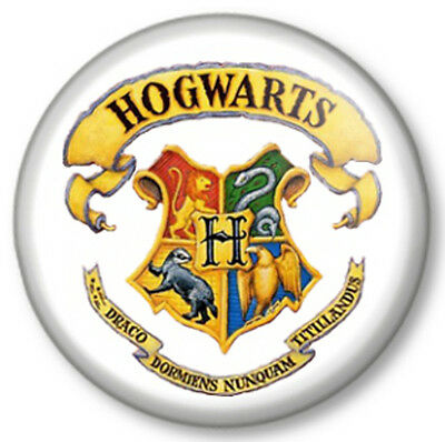 "I Love Heart Hogwarts 1/"" 25mm Pin Button Badge Harry Potter School Witchcraft"