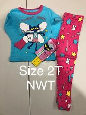 PETE THE CAT ASTRONAUT PAJAMAS SIZE 2T 3T 4T NEW!