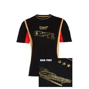 T-SHIRT-Adult-Formula-One-1-Lotus-F1-Team-NEW-Kimi-Raikkonen-Lifestyle