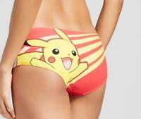 Pokemon Pikachu Ladies Women's Panties Underwear Xs S M L Xl