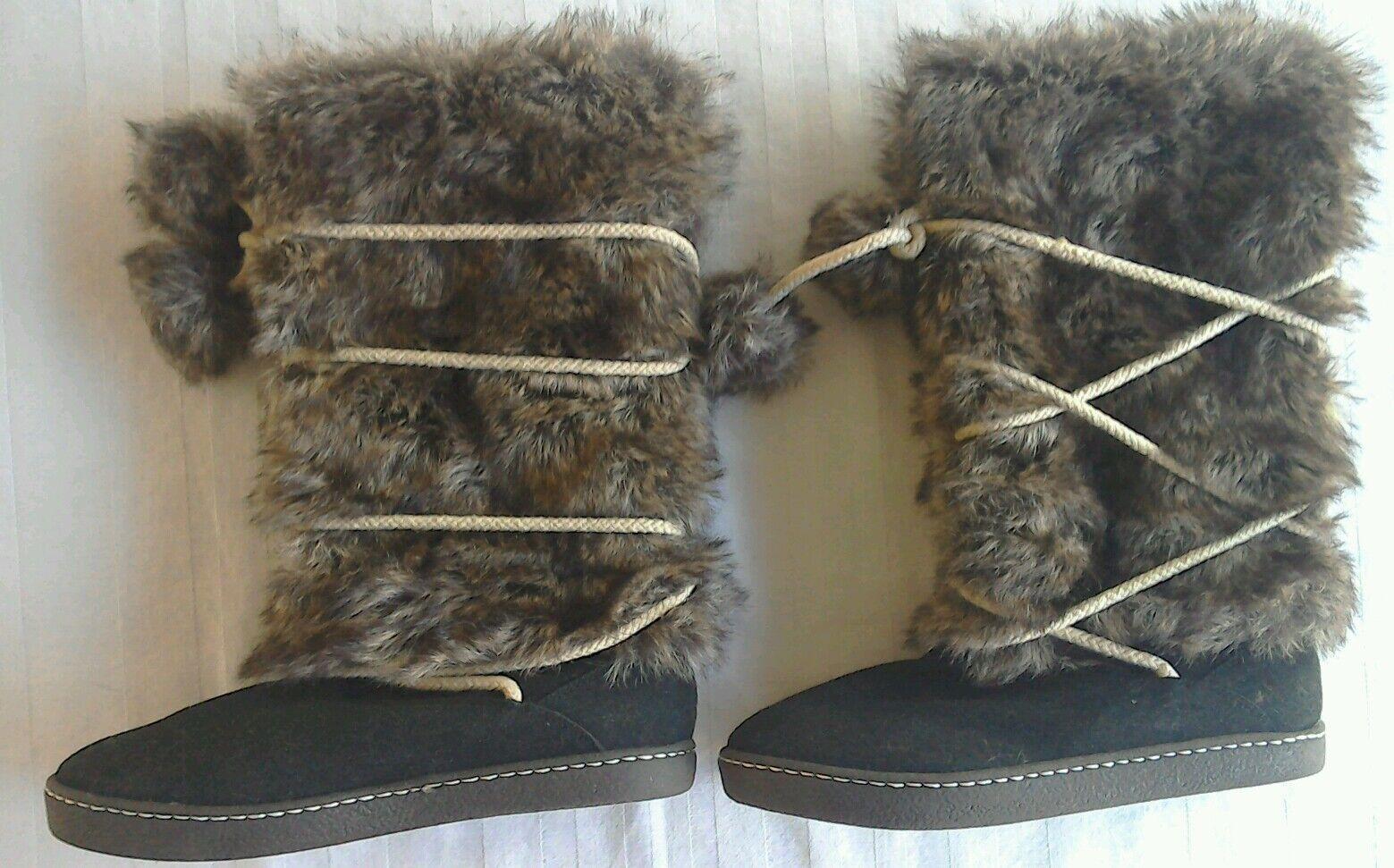 Trendy boots fur brown size UK 5.5 Europe 38.5 Australia 6.5
