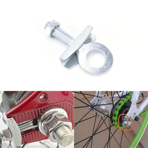 4pcs Bike Chain Tensioner Adjuster For Fixed Gear Single Speed Track Bicycle RF