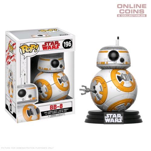 #1 Star Wars BB-8 Roller Droid Episode VIII The Last Jedi Pop Vinyl Figure BNIB
