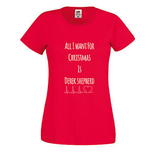 Greys-Anatomy-Printed-Ladies-Fit-Christmas-T-Shirt-All-I-Want-For-Christmas
