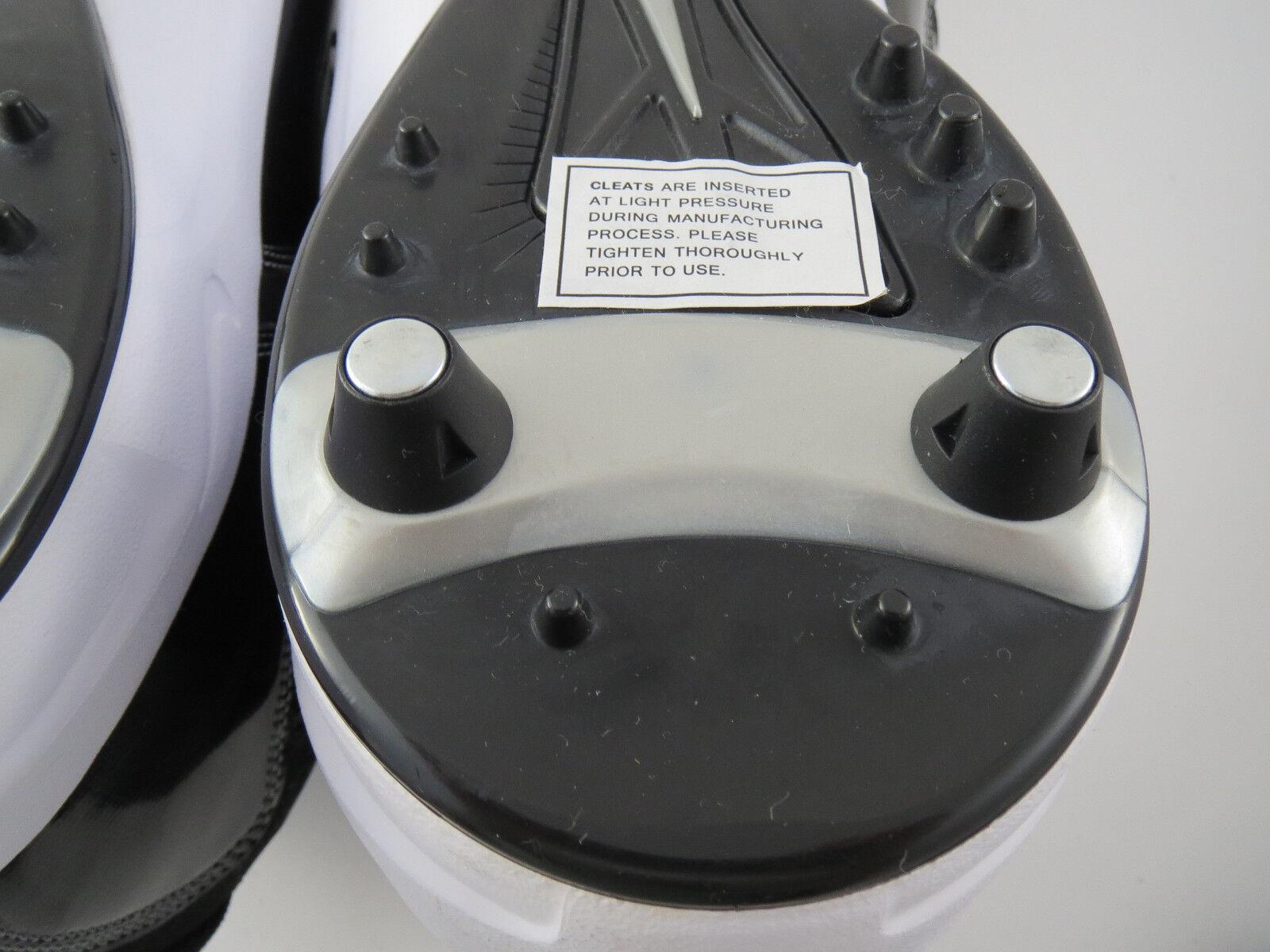 Nuove nike sz 17 calcio calcio scarpe bianco nero nero nero 352634-011 lineman | Sito Ufficiale  | Alta sicurezza  721e8a