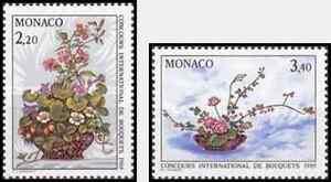 Timbres Flore Monaco 1597/8 ** lot 1623 - France - EBay Timbres neufs en série complte - France