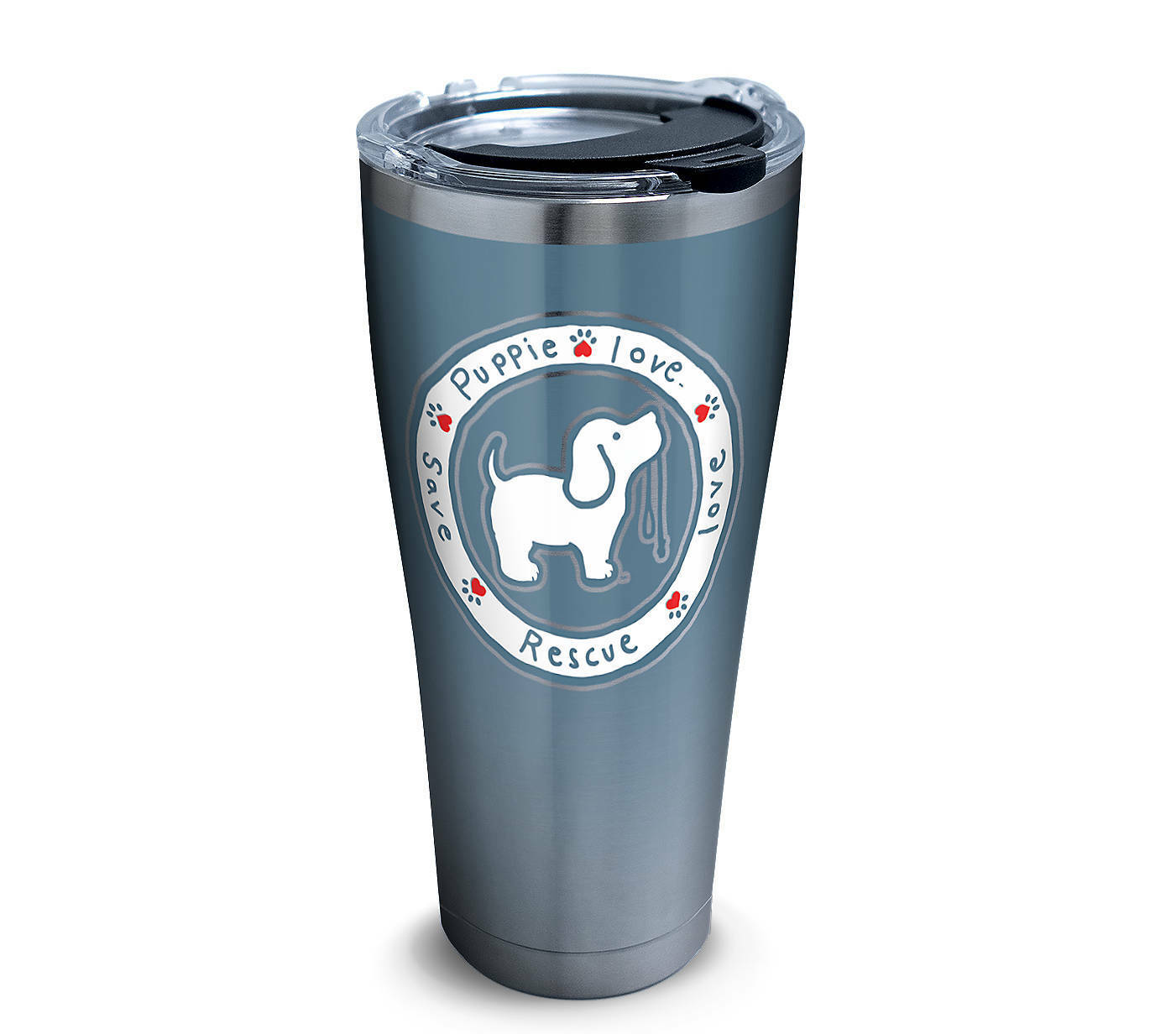 Tervis Tumbler Company - Stainless Steel Tumbler 30oz, bluee Pup - 1293634