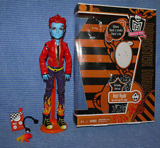 Monster High HOLT HYDE Crossfade BASIC 1st Wave Puppe Doll Lot with Box /mit OVP