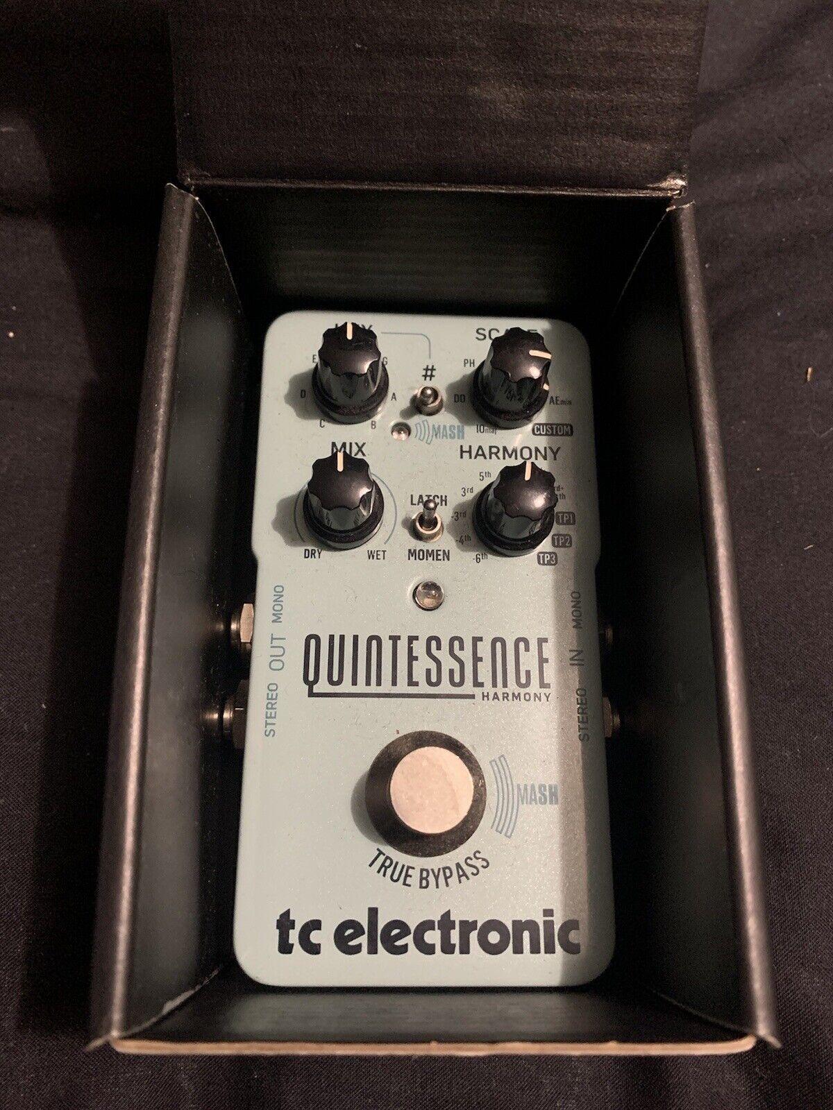 TC Electronic Quintessence Harmony Guitar Pedal
