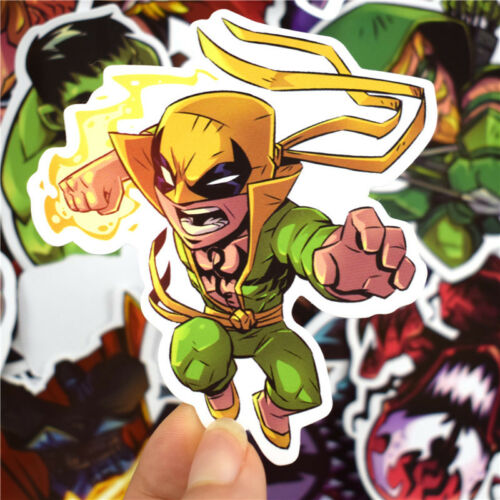 50Pcs//lot Luggage Sticker Marvel Super Hero Avengers Car Skateboard Laptop Decal