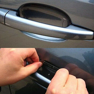 20pcs Universal Invisible Car Door Handle Scratches Protective Protector Films