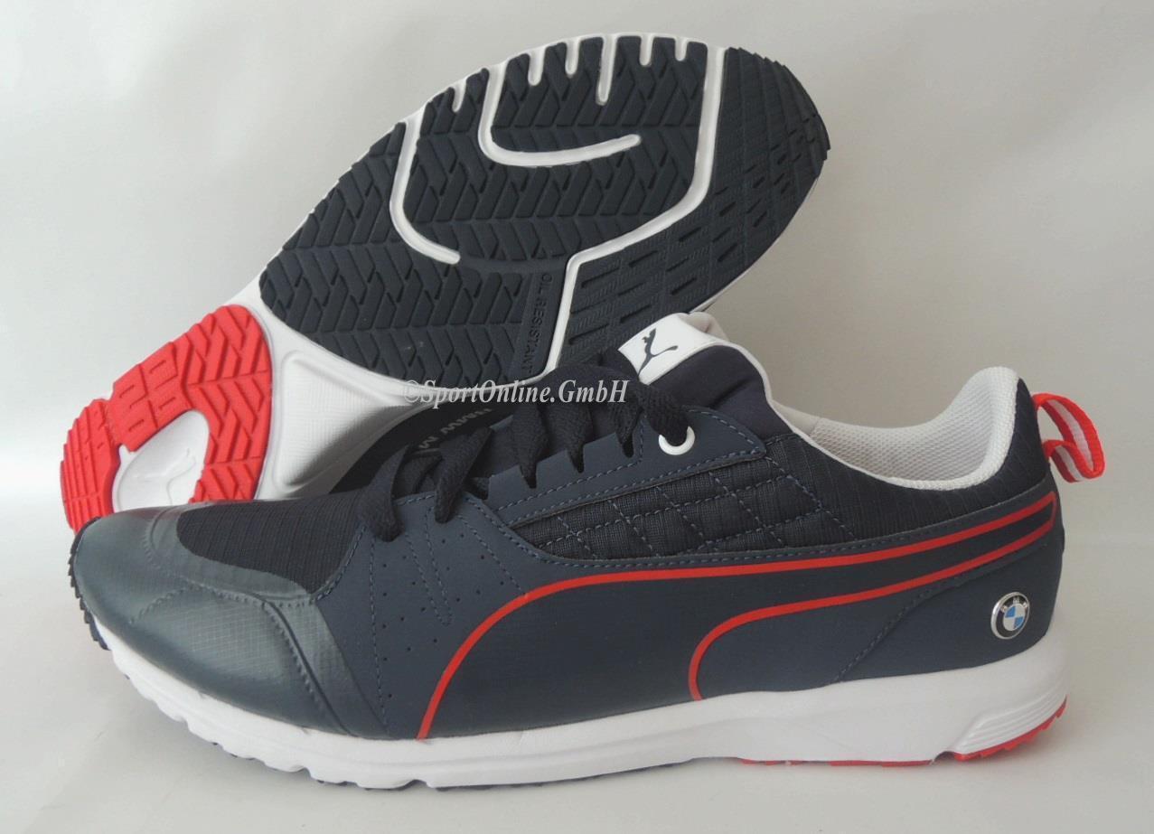 NEU Puma BMW MS Pitlane 40 Lifestyle Schuhe 305656-02 Motorsport Sneaker BLAU