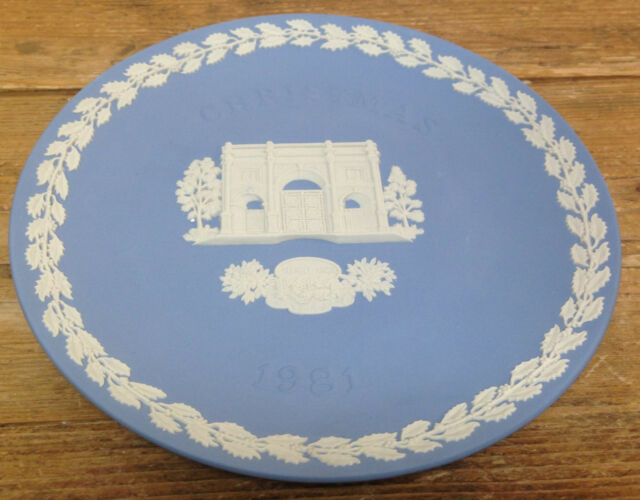 Christmas Plate 1981 Marble Arch