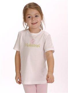 4T 6T 8 XS 10,12 Pilates Girl Fine Jersey Tee: 2T