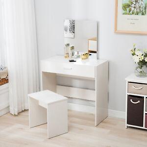Image Is Loading Vanity White Dressing Table Makeup Desk Amp Stool