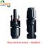 MC4-Stecker-Paar-Buchse-Stecker-4mm-bis-6mm-Kabel-Solarmodul-Solaranlage-IP67 Indexbild 1