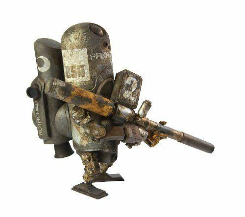 Armstrong World War Robot guerre mondiale Robot Floyd 0 G trois un 16 cm PVC Figure