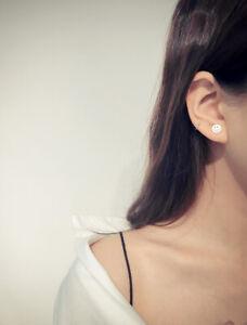 1-Paar-Damen-Ohrstecker-Ohrringe-Emoji-Sterling-Silber-925