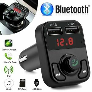 Bluetooth-MP3-Player-FM-Transmitter-Hands-free-Adapter-USB-Car-Charger-Wireless