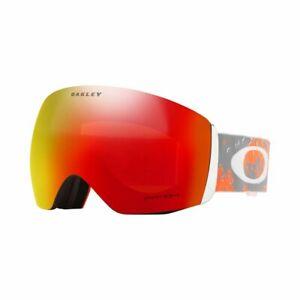 456357636aba Oakley Snow Goggles Flight Deck Prizm Oo7050-62 Orange torch Mirror 7050