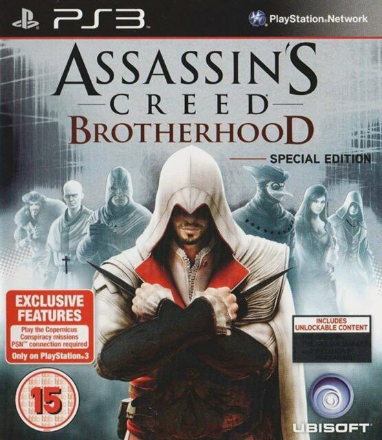 Assassin's Creed: Brotherhood - Special Edition (PS3 Game) *VERY GOOD CONDITION*