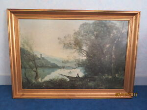 Reproduction-huile-sur-toile-de-Camille-Corot