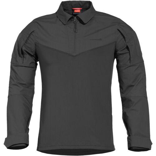 Pentagon Ranger Tac-Fresh Shirt Military Army Airsoft Outdoor Duty Wear Black