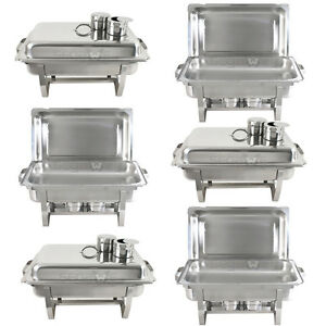 6-PACK-CATERING-STAINLESS-STEEL-CHAFER-CHAFING-DISH-SETS-8-QT-FULL-SIZE-BUFFET