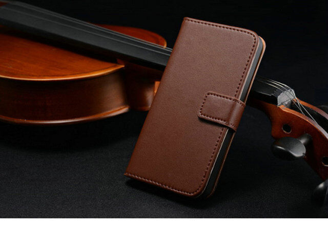 Flip Genuine Leather Magnetic Wallet Case Cover For Apple iPhone 6 6s Plus SE 5s