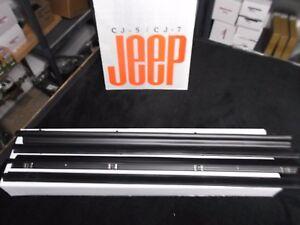 CJ-laredo-CJ-window-seals-CJ-window-belt-kit-76-81