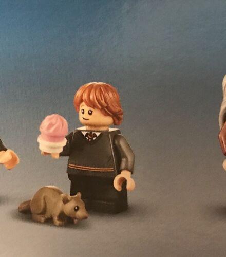 LEGO Ron Weasley e crosta 75954 Genuine Mini Figura Harry Potter Bacchetta Inc