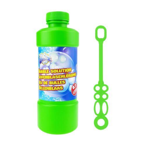 Seifenblasenflüssigkeit inkl Seifenblasenstab 0,7 L Seifenblasen Nachfüllflasche
