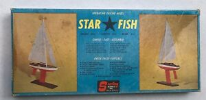 Sterling-Models-STAR-FISH-Operating-Sailing-Vintage-Model-Kit-B-25
