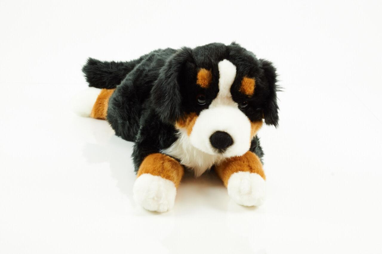 Hermann Teddy 927815 Berner Sennenhund lying 60cm/24inch- Made in Germany