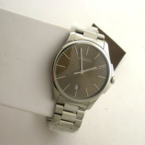 1aa805d6a8d Image is loading Gucci-YA126249-G-Timeless-Collection-Stainless-Steel-126-