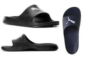 NEW-Puma-Men-039-s-Divecat-Logo-Fashion-Beach-Shoes-Slip-On-Slide-Sandals-Slippers