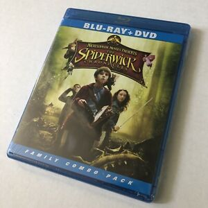 Spiderwick-Chronicles-Two-Disc-Blu-ray-DVD-Combo-PG-New-Sealed-US-Seller