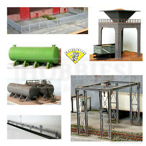 Knightwing-Railway-Plastic-Model-Building-Kits-OO-HO-Gauge-Scale-Track-Line-Side